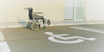 車いす 駐車場 まゆずみ眼科医院